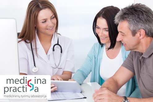 Sveikatos patikrinimo programa vyrams