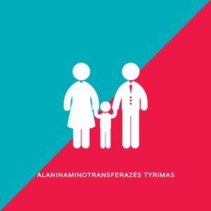Alaninaminotransferazės tyrimas