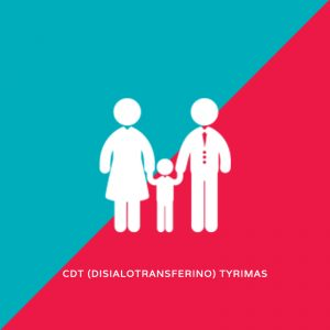 CDT (disialotransferino) tyrimas